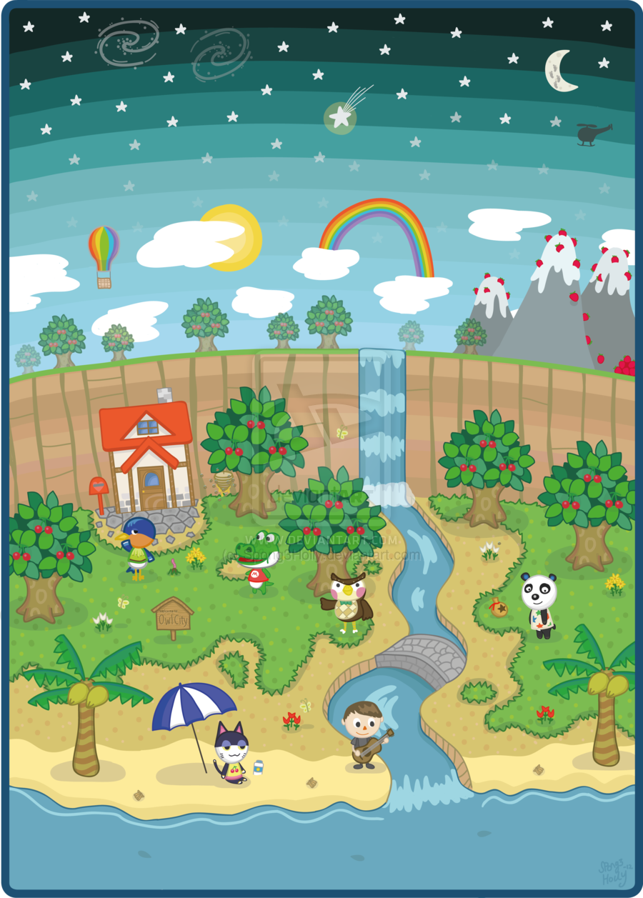 Owl City Animal Crossing by =TheOceanOwl on deviantART