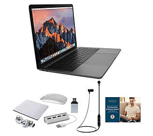 "Apple MacBook Pro 13"" Retina 128GB with Accessories - QVC.com"