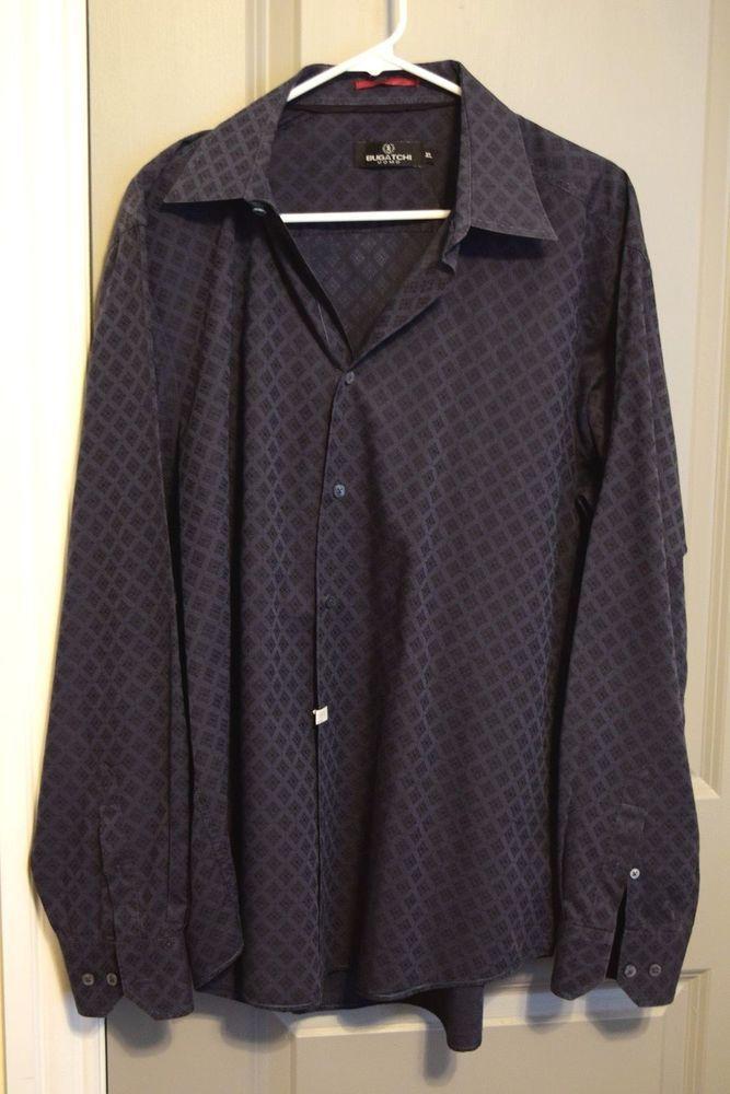 Bugatchi UOMO Men's Size XL Button Down Shirt #BugatchiUOMO #ButtonFront