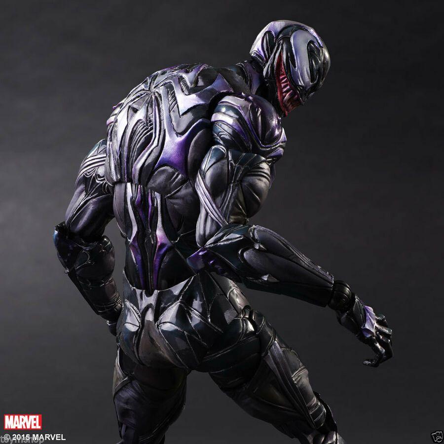 Marvel Universe Variant Play Arts Kai Venom PVC Action Figure Statue
