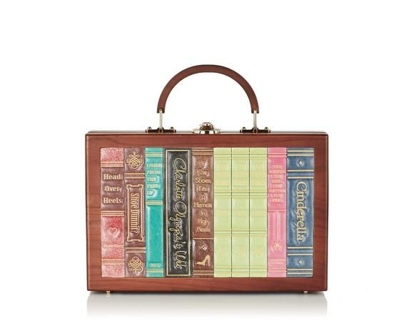 """Charlotte Olympia """"Librarian"""" purse"""