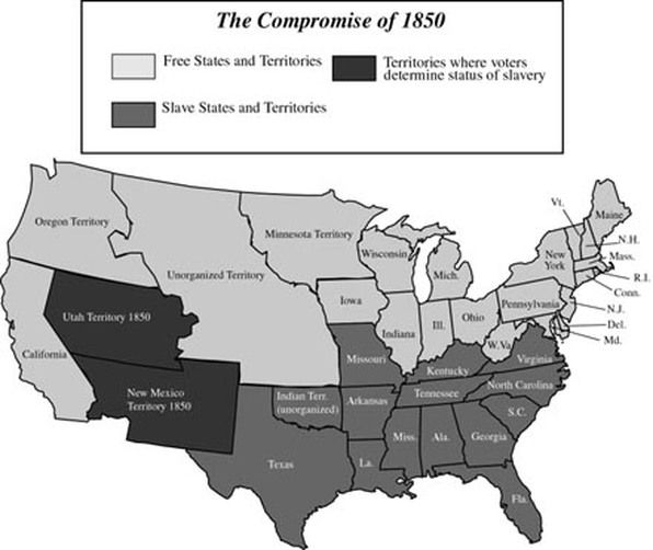 The Compromise Of 1850 Allowed Judges To Get Paid Twice As