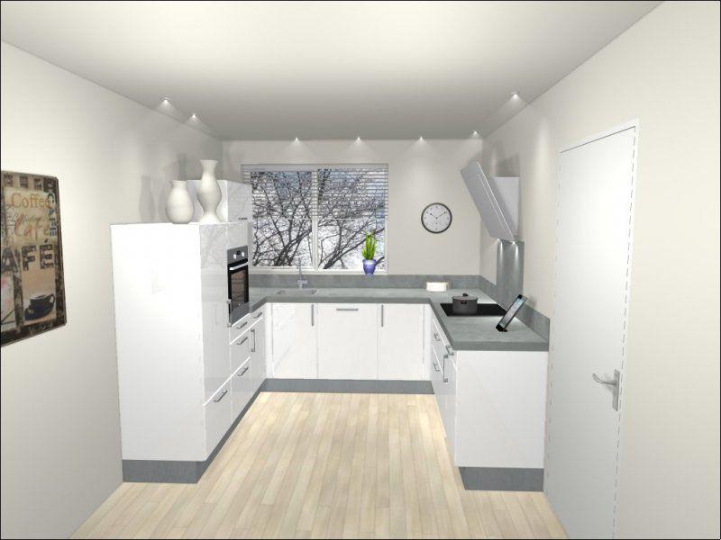 Keukenkasten Met Apparatuur : Visual u keuken ca. 240x280x241cm keukenkasten 4 apparaten hpl