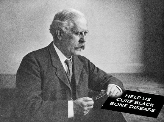 Archibald Garrod discovered AKU in 1902. It's time to #HelpCureAKU