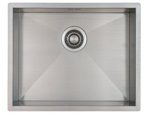 Lavelli Cucina 60 Cm.Lavello Da Cucina In Acciaio Inossidabile Lavandino Mizzo Quadro 50 40 A Incasso Base Lavello Quadrato In Sink Kitchen Sink Stainless Steel Kitchen Sink