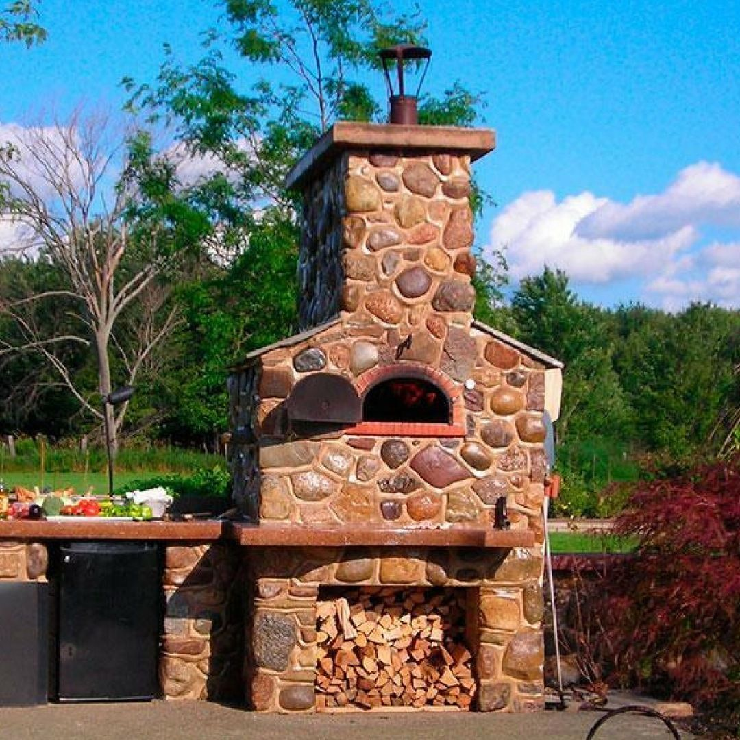 Another chicago brick oven installation its