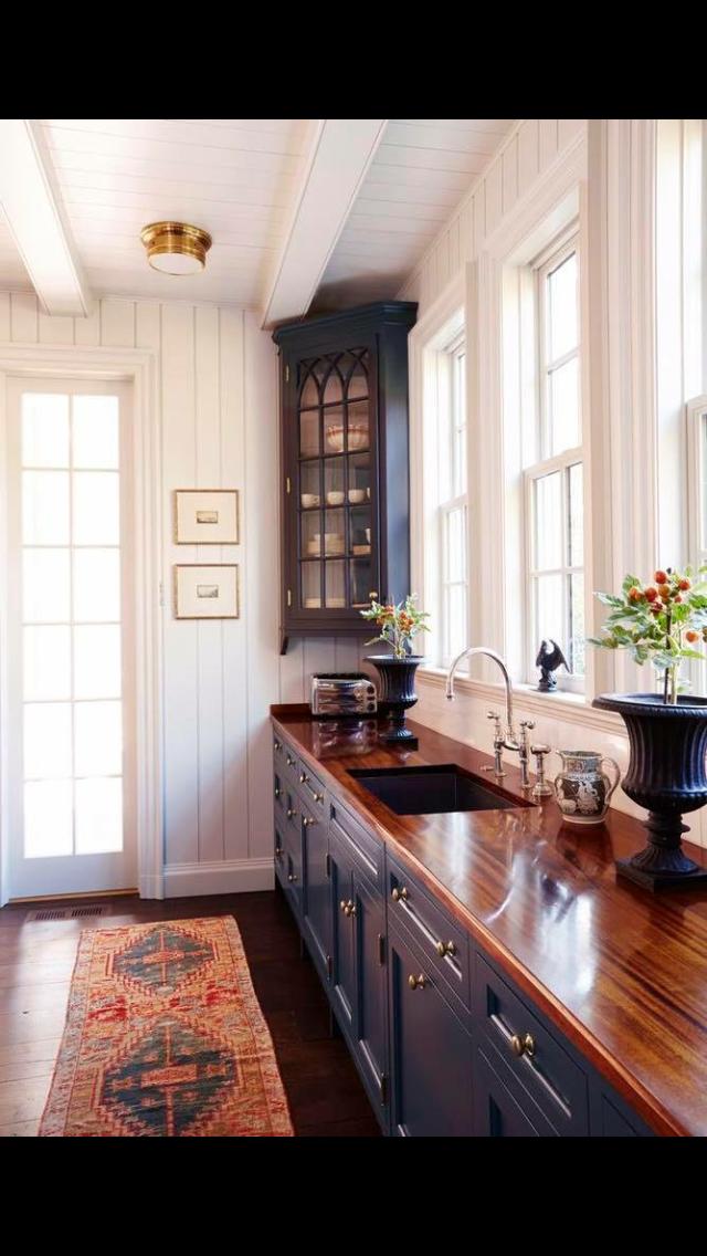 Love The Cabinet And Counter Top Color Combo Cocinas De Casa