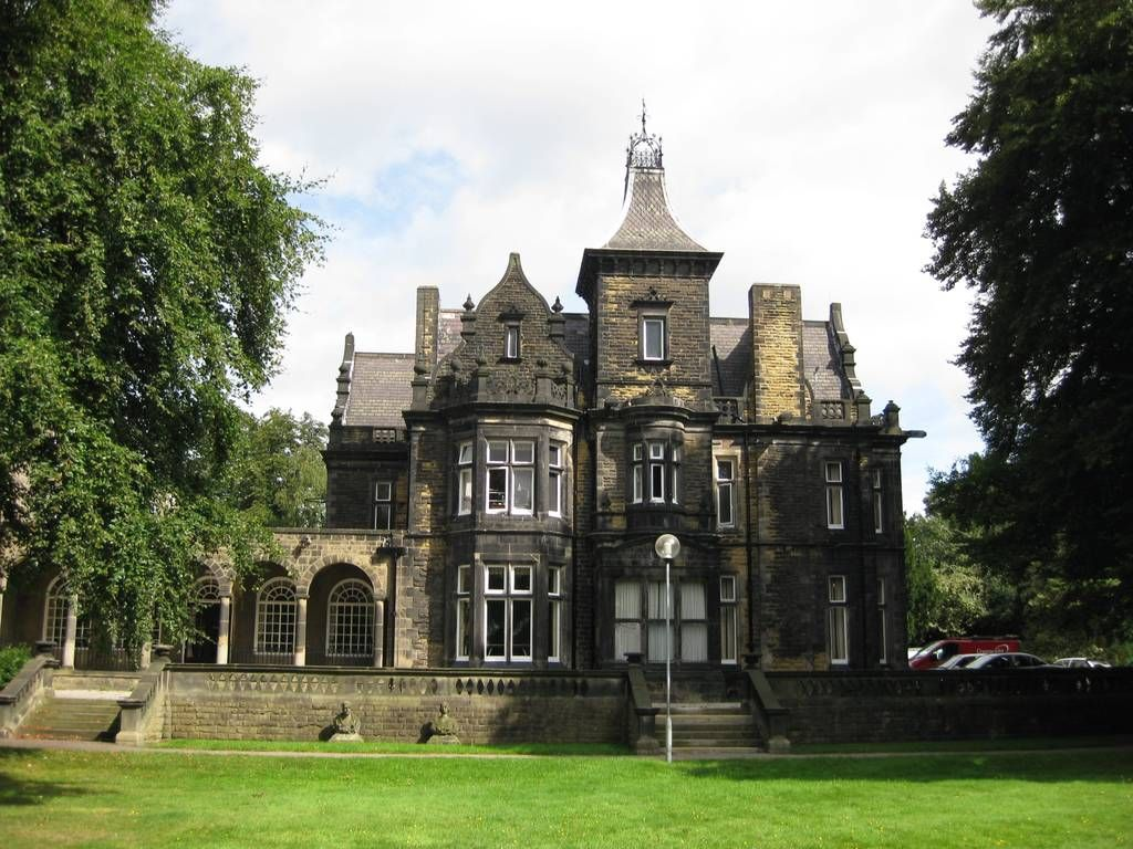 Oxley House Leeds LS16 8HL Built 1861 In Neogothic Style In