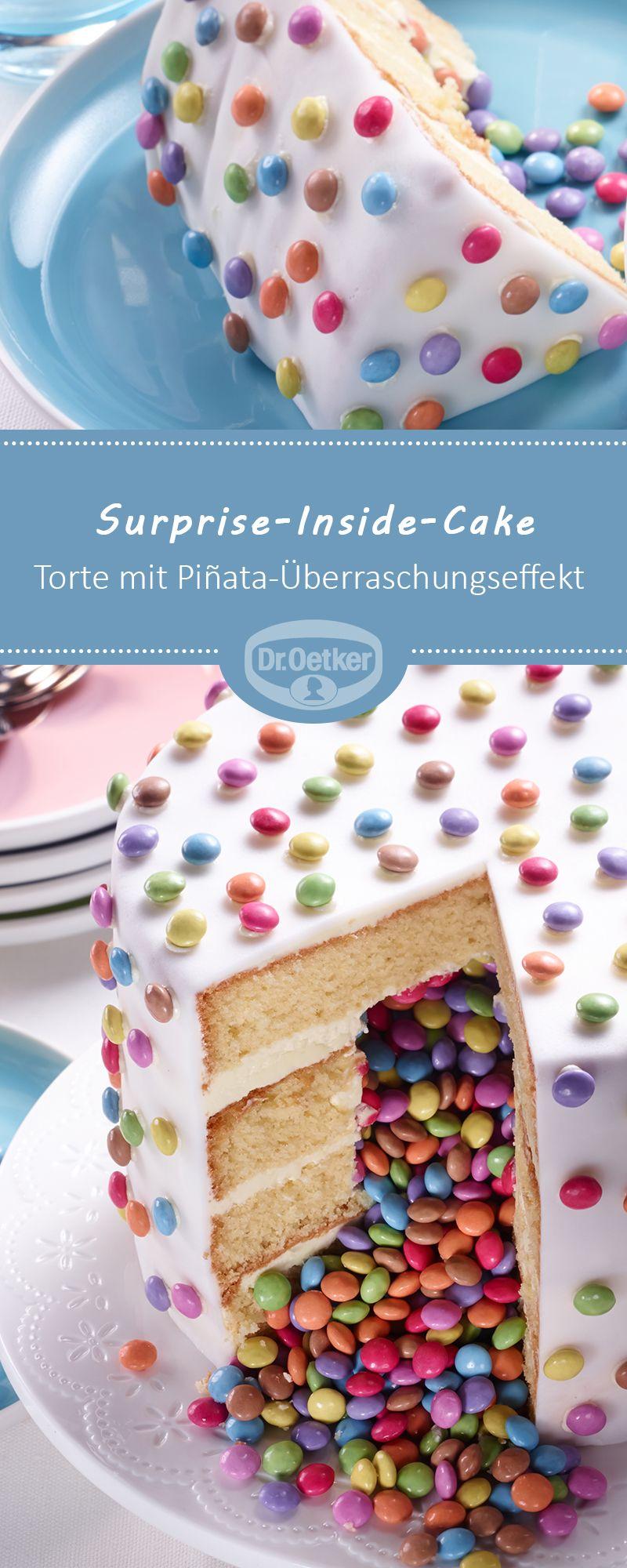 Surprise Inside Cake Rezept In 2019 Cakes Geburtstagskuchen