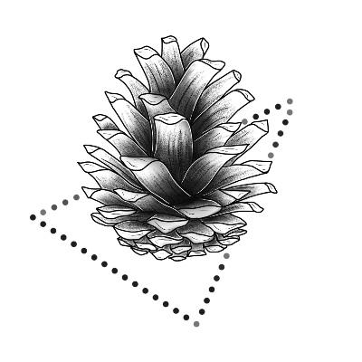 24+ Tatouage pomme de pin ideas in 2021