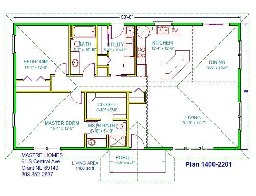 Whitefish House Plans 1400sq Ft House Design House Plans House Design Small House Design