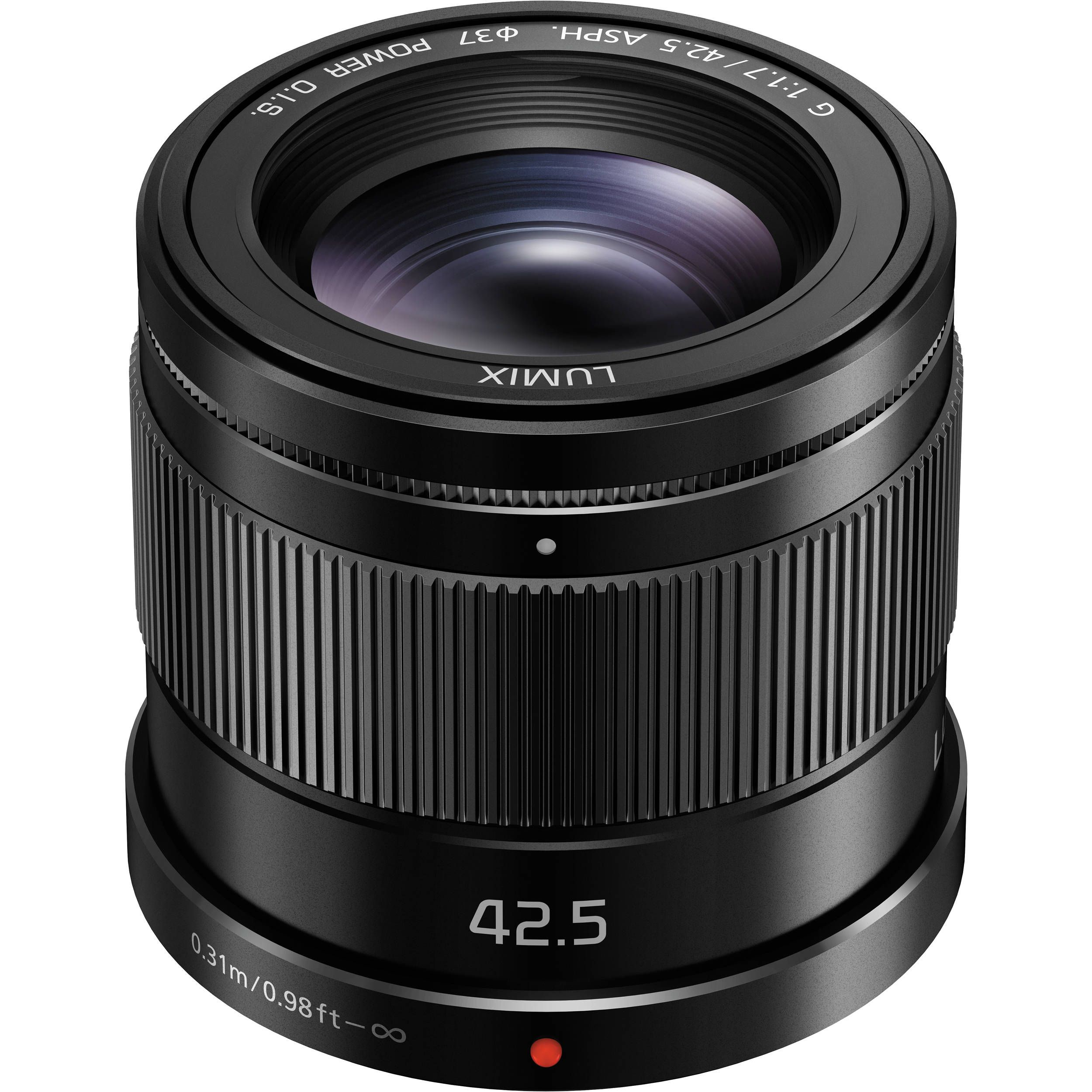 Panasonic Lumix G 42 5mm F 1 7 Asph Power O I S Lens H Hs043k Panasonic Lumix Panasonic Mirrorless Camera