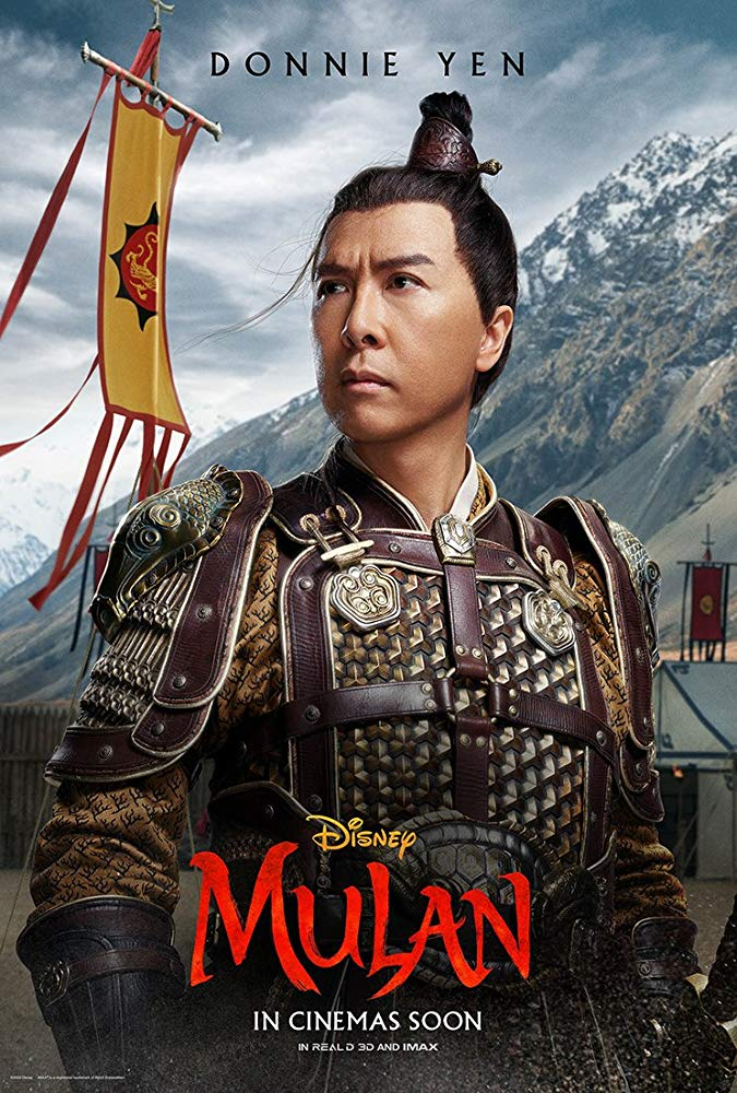 Mulan 2020 In 2020 Mulan Movie Mulan Donnie Yen