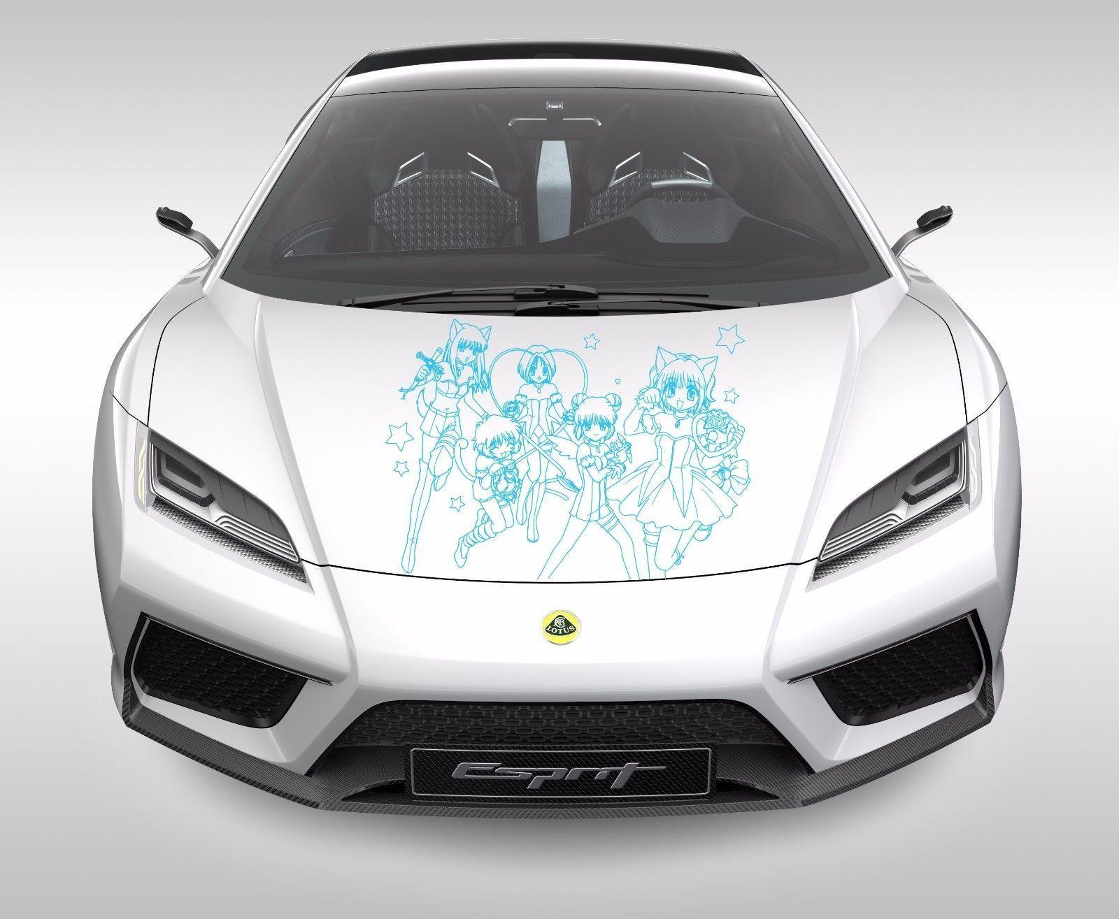 Anime car decal car sticker anime sticker girls beauty