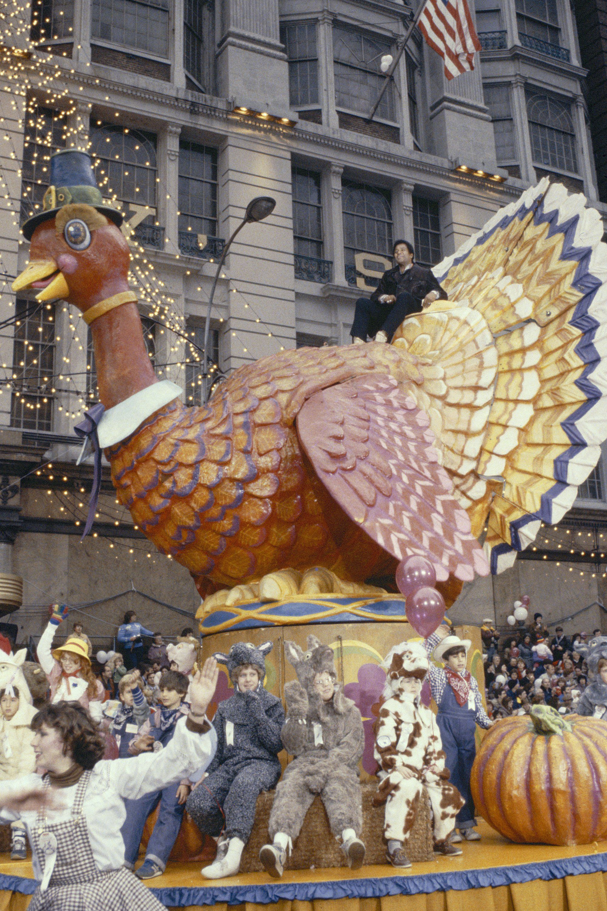The History Of The Macy's Thanksgiving Day Parade In