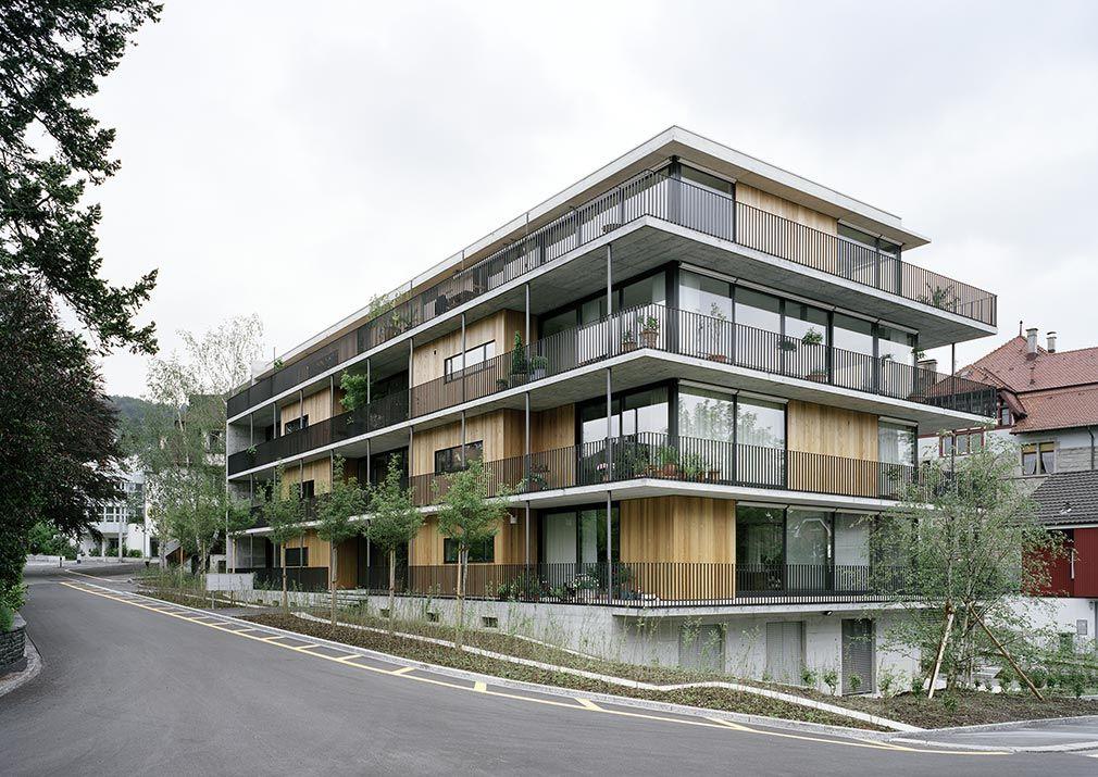 Pin von salle auf prinzipien mehrfamilienhaus bauen for Modernes haus zurich