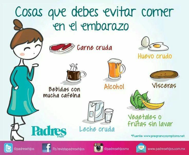 Est s esperando a tu beb qu alimentos debes evitar durante el embarazo tomad nota mam s - Alimentos saludables para embarazadas ...