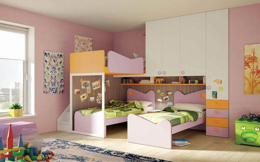 30 Modelli Di Camerette Salvaspazio Per Bambini E Ragazzi
