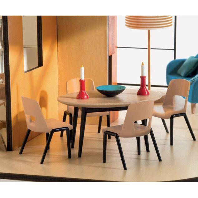 Merveilleux Image Result For Modern Dollhouse Furniture · Dining TableDining ...