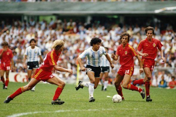 Image result for argentina vs belgica 1986