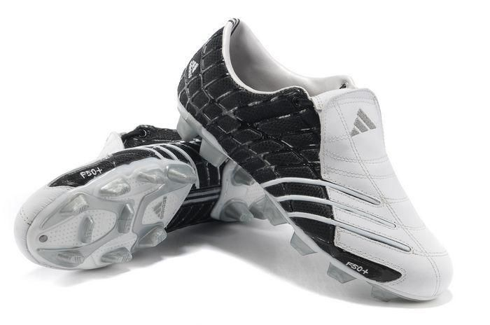 67886eed2 Adidas F50+ FG black/white | Football Boots | Soccer shoes, Adidas ...