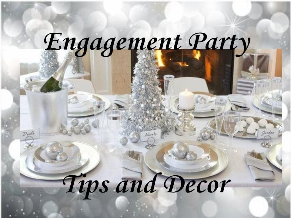Wedding Dinner Party Ideas Part - 30: EASY WEDDING ENGAGEMENT DINNER PARTY TIPS U0026 DECOR @ HOME