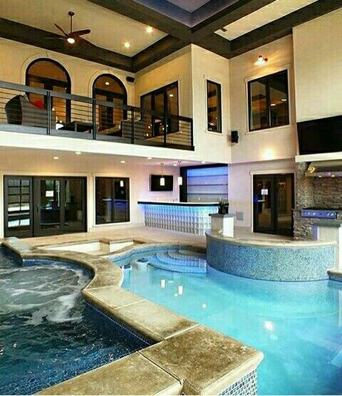 Indoor swimming pools pool designs in houses also best dream house images cool future inside rh pinterest