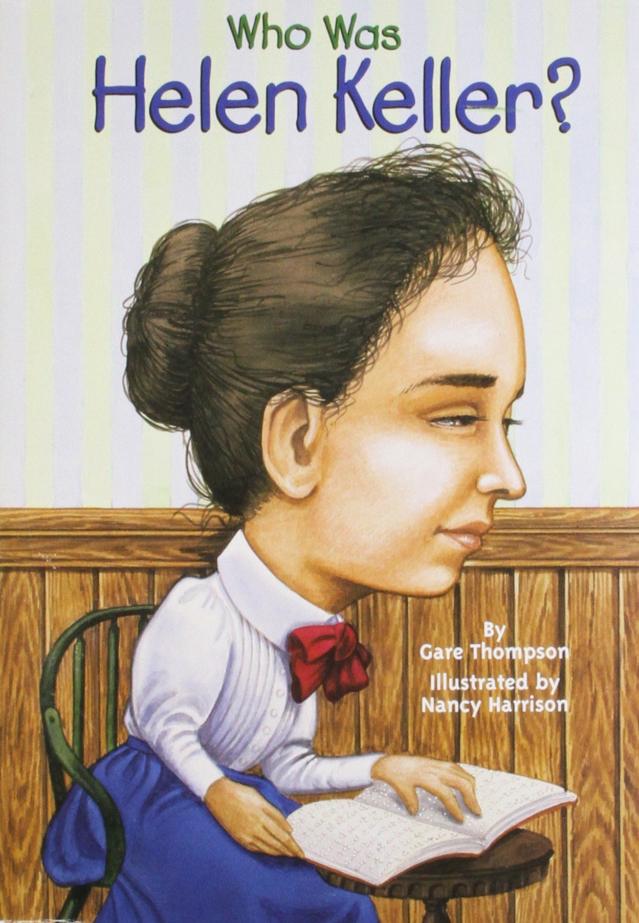 This Book Teaches About Helen Keller And Is A Great Tool