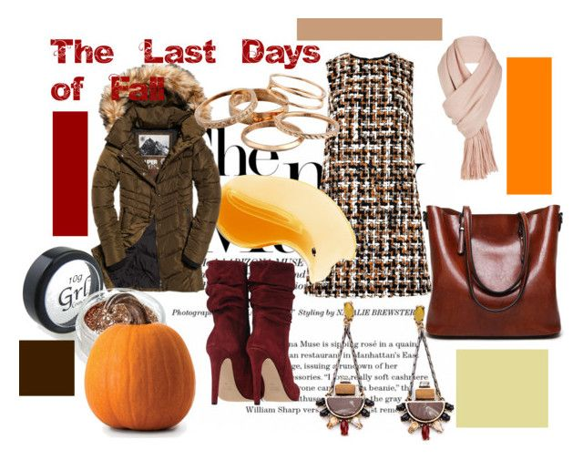 """""""The Last Days of Fall"""" by flower-of-paris ❤ liked on Polyvore featuring Dolce&Gabbana, Superdry, Free People and Kendra Scott"""