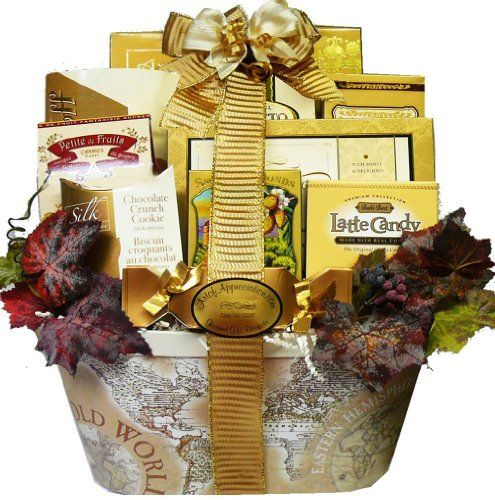 Art of Appreciation Gift Baskets   Old World Charm Gourmet Food and Snacks $55.16