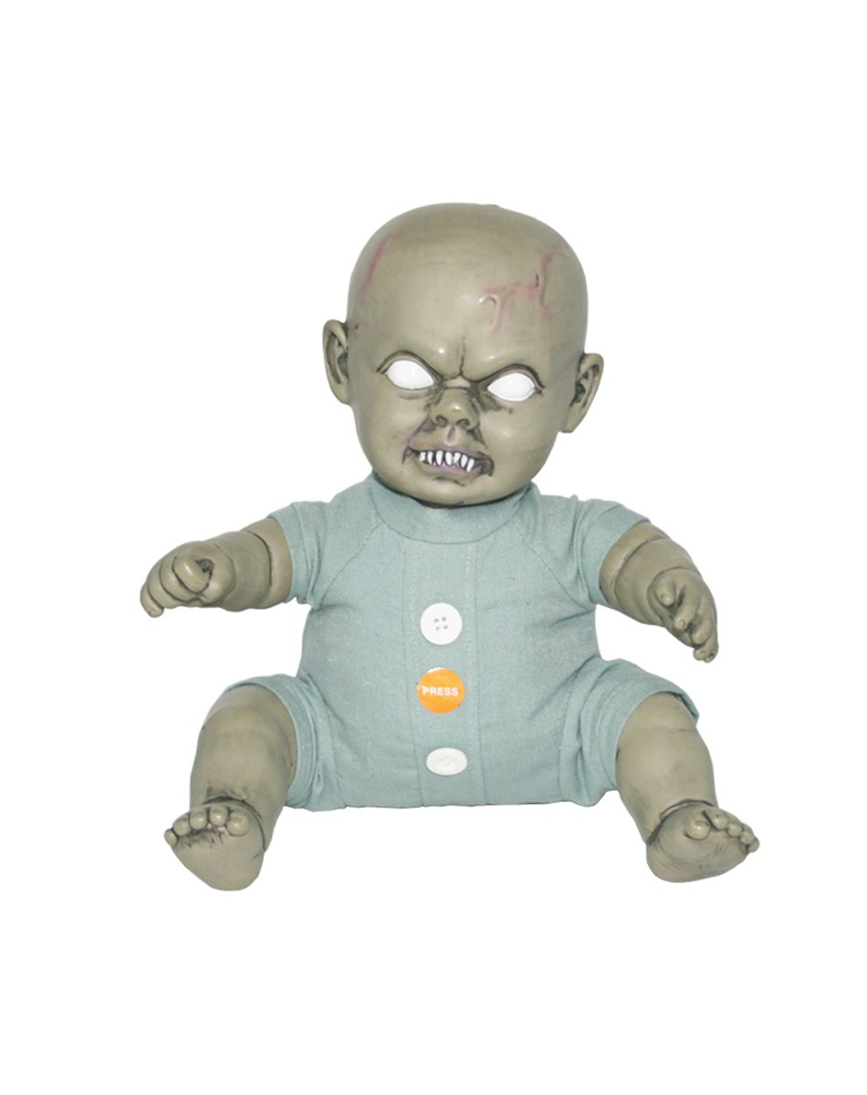 The Wiggler Zombie Baby® Prop is one baby you totally do not want ...