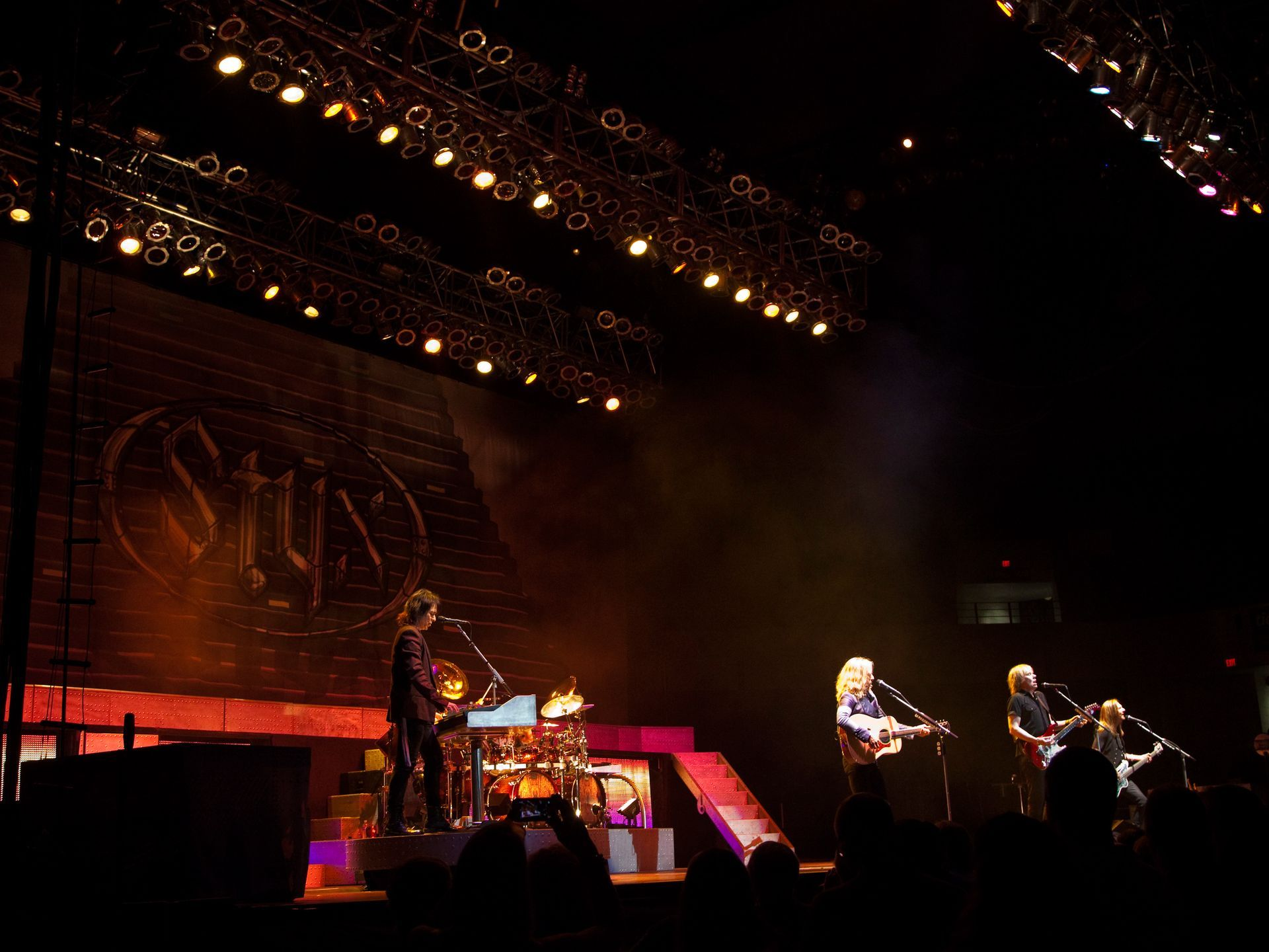 Chicago rock band, Styx, played at Freedom Hall on Aug  15, 2014
