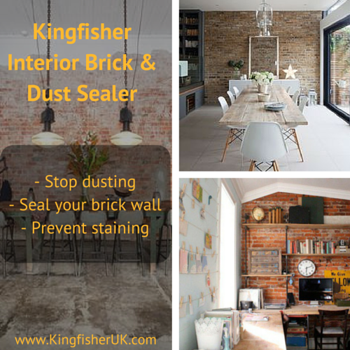 Protect Your Interior Brick Wall With Our 5* Interior Brick U0026 Dust Sealer!