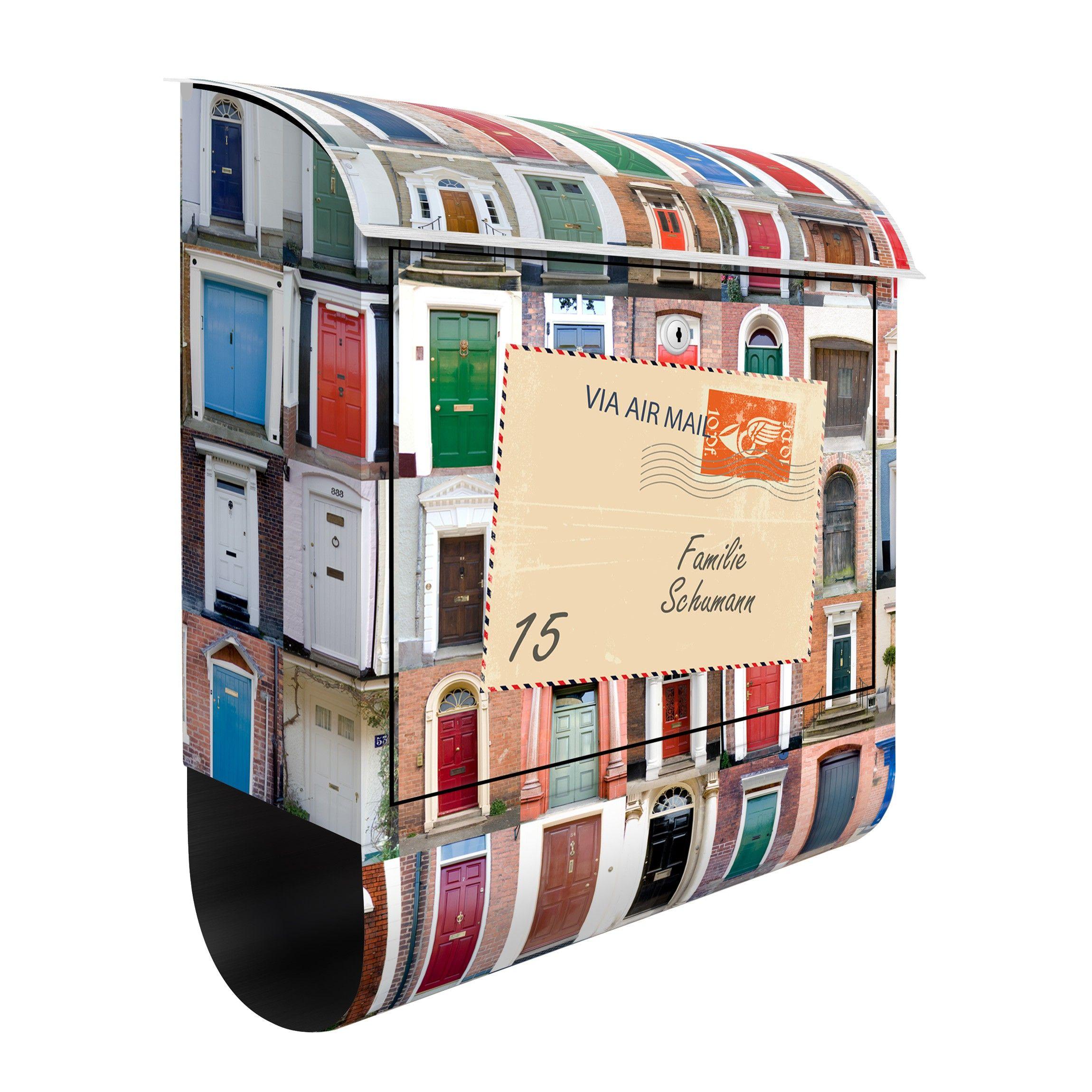Cassetta Postale Personalizzata 100 Doors 39x46x13cm Cassetta