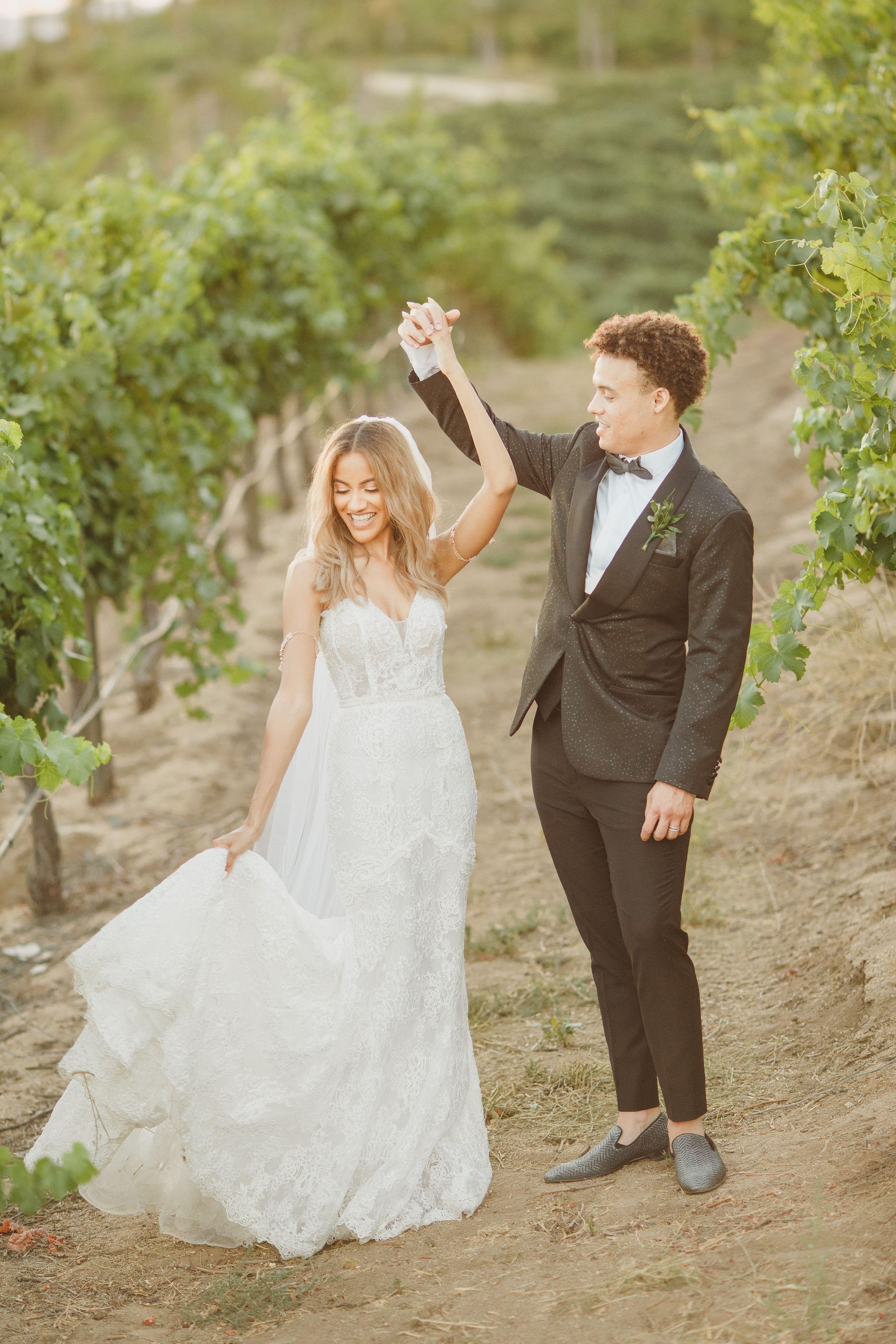 Falkner winery wedding photos in 2020 winery wedding