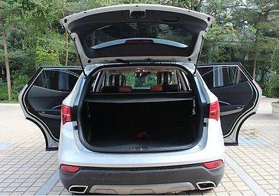Trunk Shade Black Cargo Cover For Hyundai Santa Fe Ix45 2013 2016 5 Seats Cargo Cover Hyundai Santa Fe Sport Santa Fe Sport