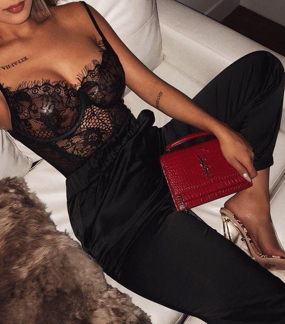 1170f752ea3 Women Sexy Lingerie Nightwear Underwear G String Lace Sling Sleepwear  Teddies Bodysuits
