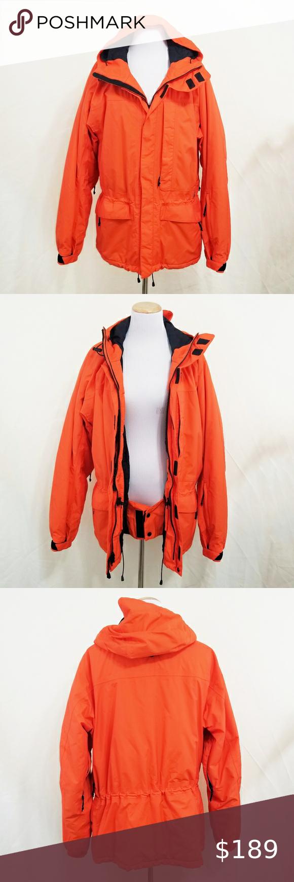 Rlx Polo Sport Winter Coat Ski Jacket Orange Black Sport Winter Coat Ski Jacket Winter Coat [ 1740 x 580 Pixel ]