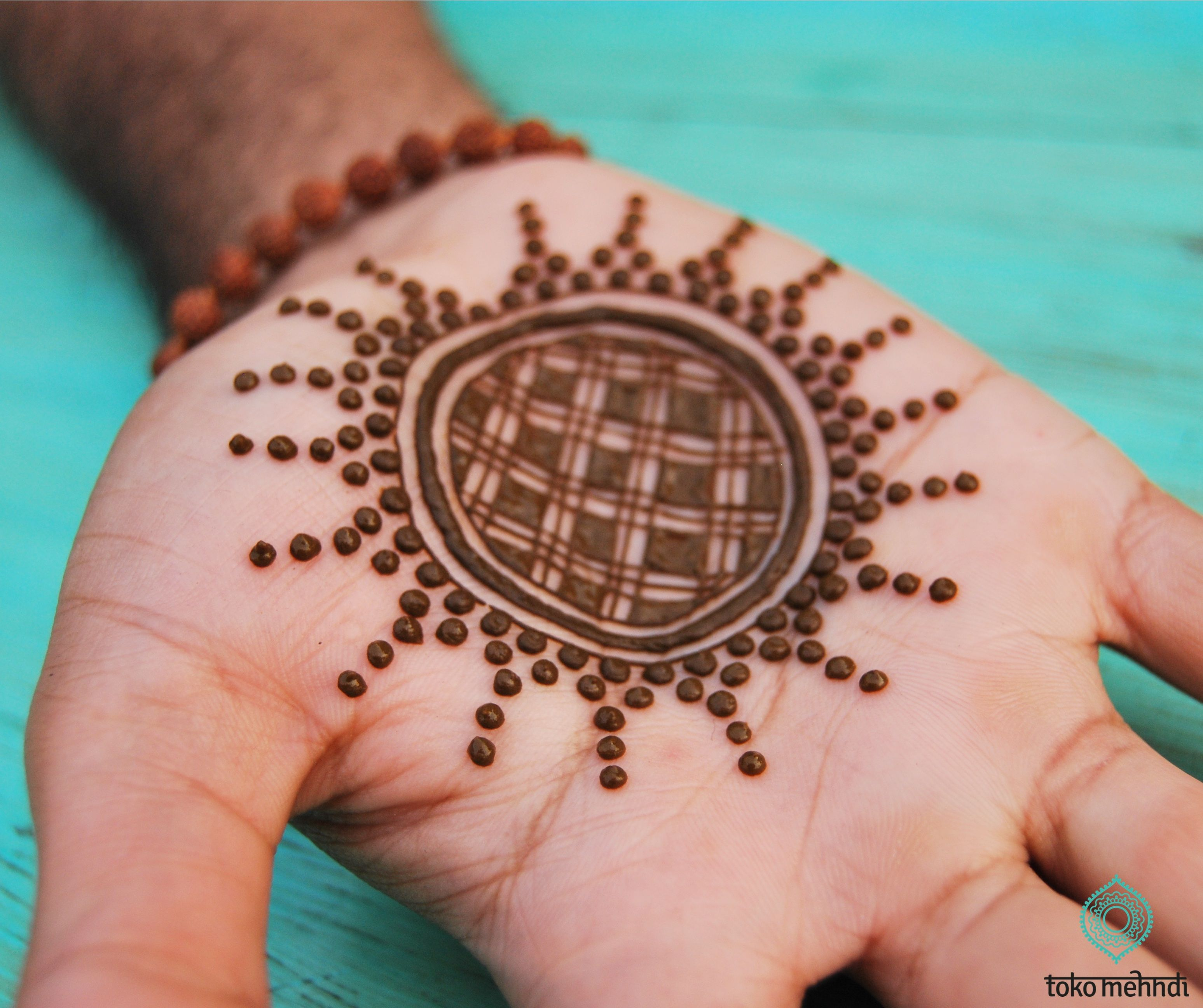 Arabic Mehndi Design For Men: Male Henna Design