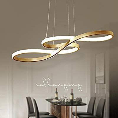 Lampada a sospensione a LED da 60 W, design moderno ...