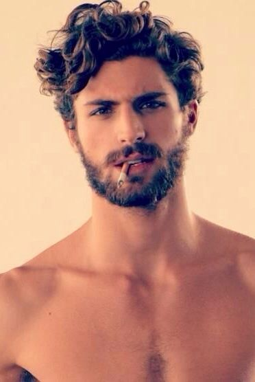 Hair Bands Around Head For Men Google Search Mens Messy Hairstyles Curly Hair Men Beard Styles For Men
