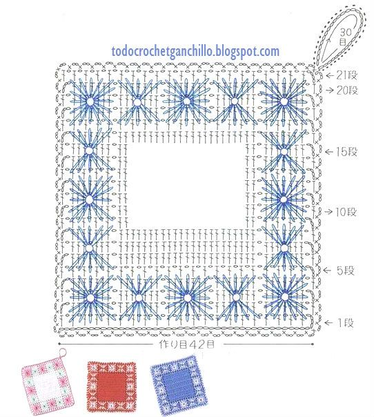 Todo crochet | Proyectos que intentar | Pinterest | Ganchillo ...