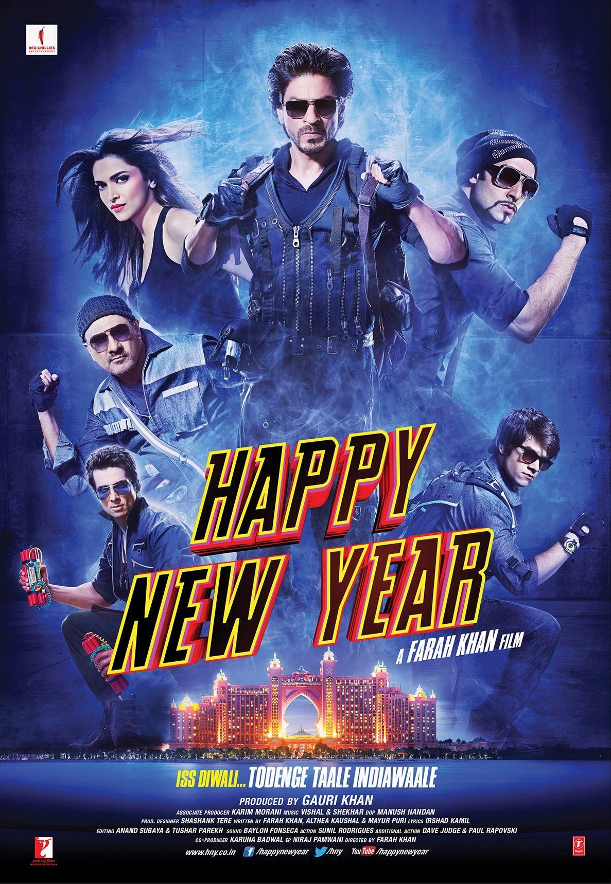 Shah Rukh Khan Deepika Padukone Staring Happy New Year Trailer