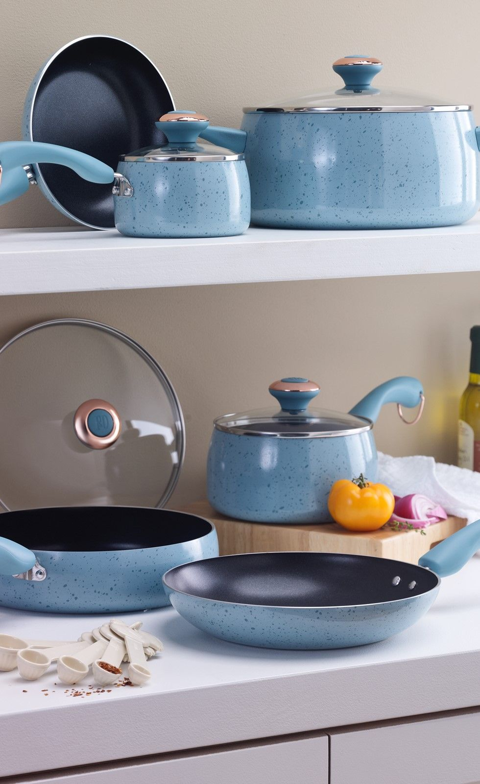 This robin\'s egg blue cookware set would make such a fun addition to ...