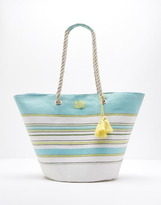 Festival Multi Stripe Beach Bag , Size One Size | Joules US
