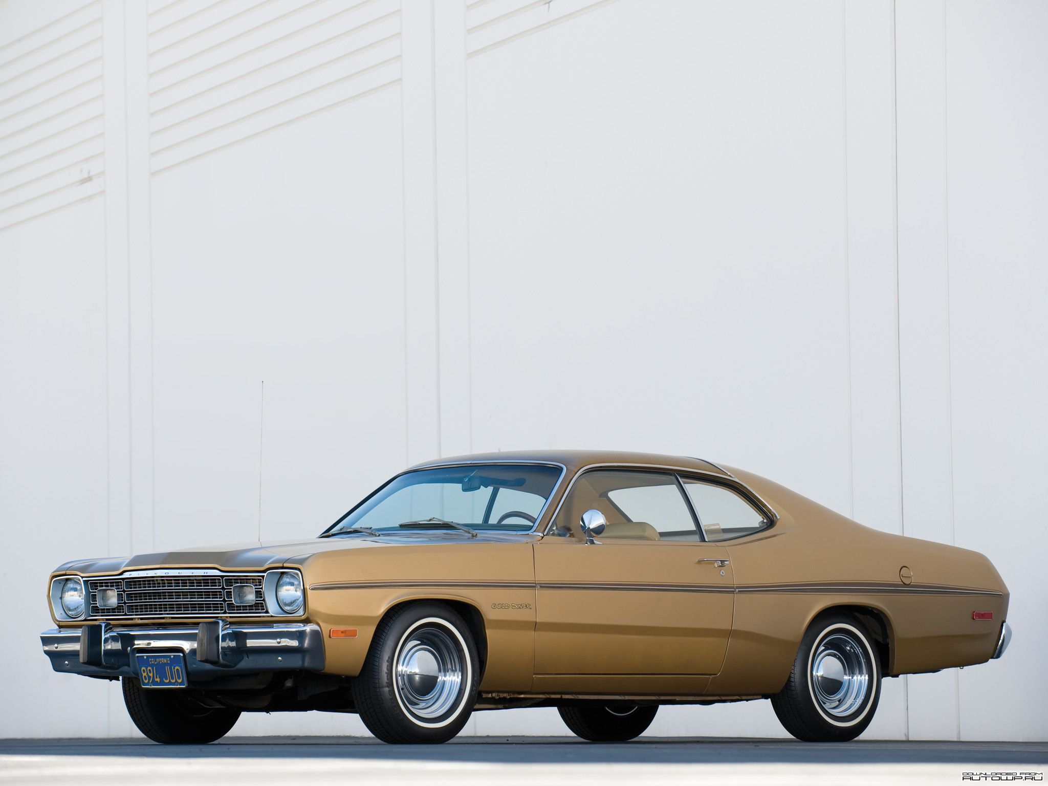 1973 Plymouth Gold Duster I Used To Own One Of These
