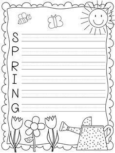 acrostic poem template for spring writing freebie from a