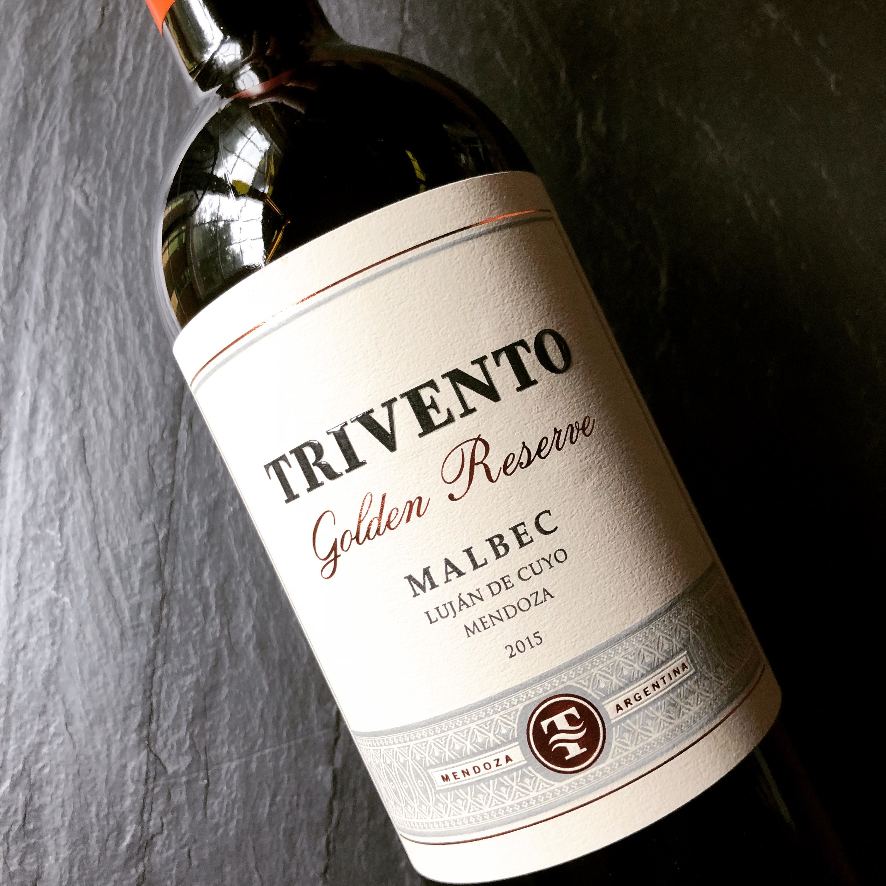 Trivento Golden Reserve Malbec 2015 In 2020 Wine Pairing Malbec Wine