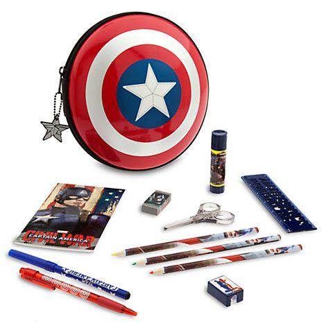 Genuine Marvel Comics Capitan America e IRON MAN GUERRA CIVILE Tri-Fold Wallet