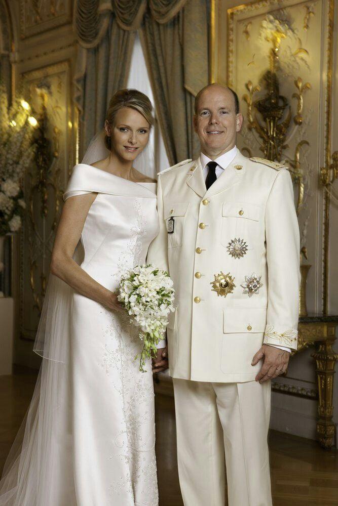 Portrait of the Monaco nuptials | House of Grimaldi | Pinterest ...